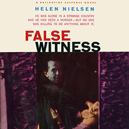 False Witness audiobook cover art
