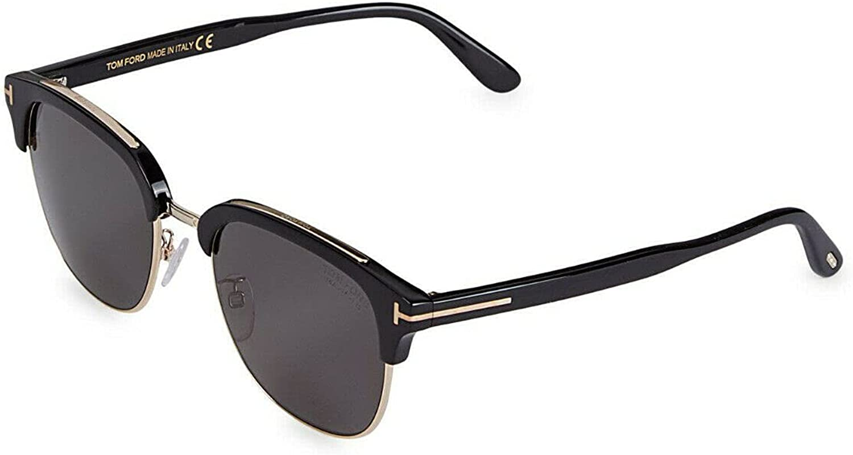 Tom Ford Sunglasses With Case - FT0805K 01D - Black/Grey Lens (56-21-145)