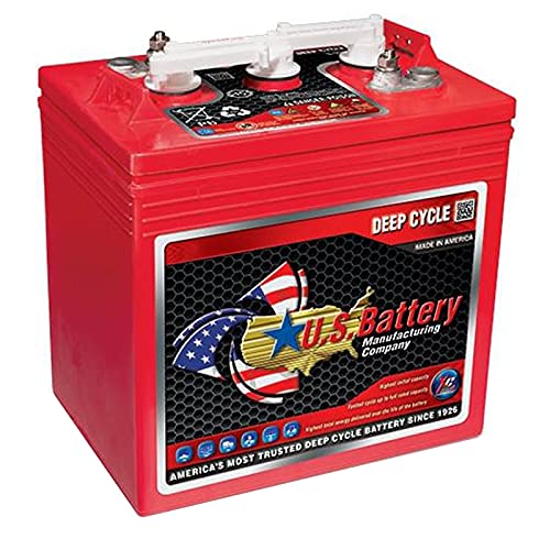U.S. GC2 US2200XC2 6V 232A Deep Cycle Flooded Acid Battery