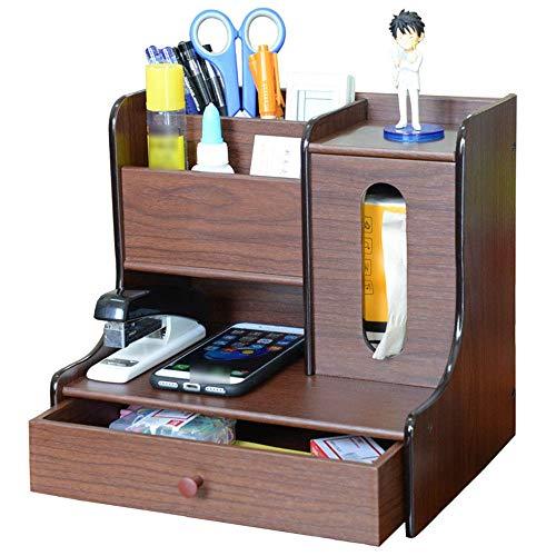 TnSok Schreibtisch-Organizer. Holz...