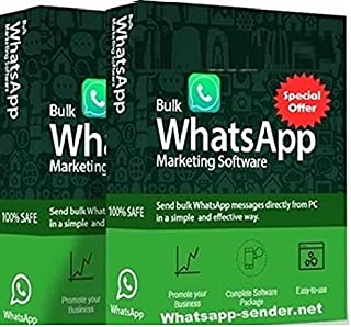 Perfect whatsapp Bulk Messages sender- 1 Year Licence