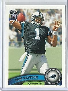2011 Topps Football #200 Cam Newton Rookie Card