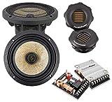 PRECISION POWER: Power Class P.65C3 3-Way Component 6.5-inch Car Audio Sound System 400W Max