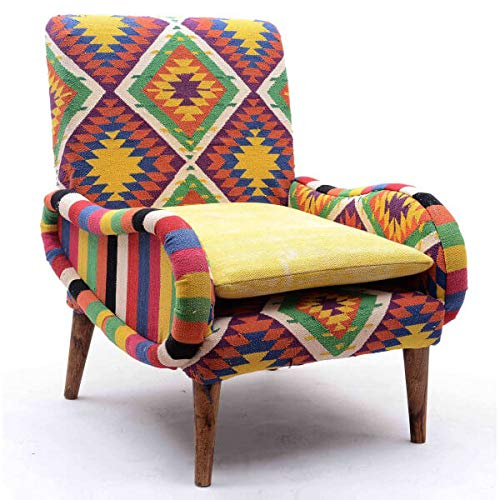 Cotone,Multicolore 103 x 79 x 62 VERSA 19500274 Poltrona