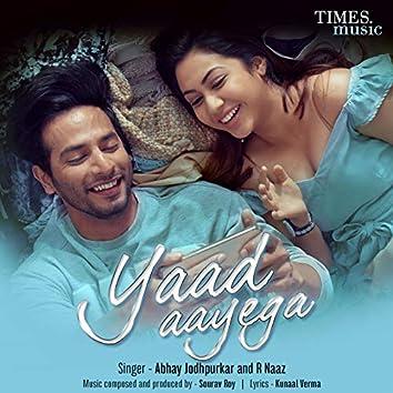 Yaad Aayega - Single
