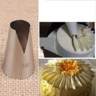 Meomeo2356 Piping Nozzles 1pc New Flower Icing Piping Tips Nozzle Cake Cupcake Decorating Pastry Tool