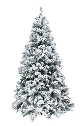 XONE Albero di Natale Kettinson Slim 210cm - Innevato e Folto