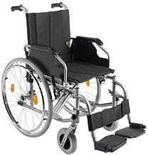 Trendmobil Rollstuhl TMB Faltrollstuhl mit Steckachsensystem Sitzbreite 48 cm Reiserollstuhl Transportrollstuhl HMV 18.50....