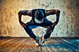 Tänzer Dancer Hip Hop RnB Mann XXL Wandbild Kunstdruck