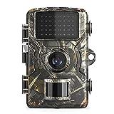 Irfora Jagdkamera - 12MP 1080P Wildlife Trail und Wildkamera Bewegungsaktivierte Überwachungskamera IP66 wasserdichte Außeninfrarot