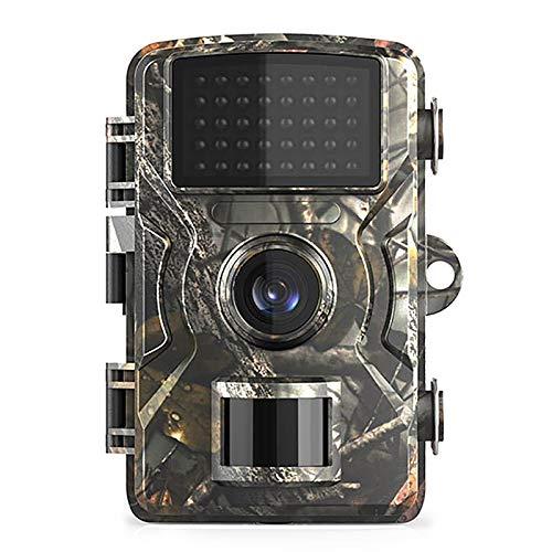 Ajcoflt 12MP 1080P Wildlife Hunting Trail und Wildkamera Bewegungsaktivierte Überwachungskamera IP66 wasserdichte Außeninfrarot-Nachtsicht-Jagd-Scouting-Kamera