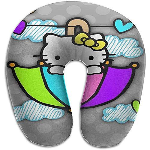 Paraplu Hello Kitty U-Shaped kussen Goede ondersteuning voor nek; Perfect voor reizen, kantoor en school U-Shaped kussen 29 * 30 * 10cm