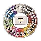 VITARIE mica Pigment (25 Farben 10g / 0,35 unzen pro stück) ultimative Huge Pigment-Puder-Set...