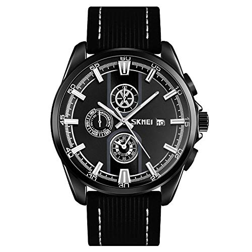 Diommest Men's Fashion quartz horloge, Grote Dial waterdicht horloge, Trend Luminous Student quartz horloge Fashion Horloges voor mannen (Color : Style-B)