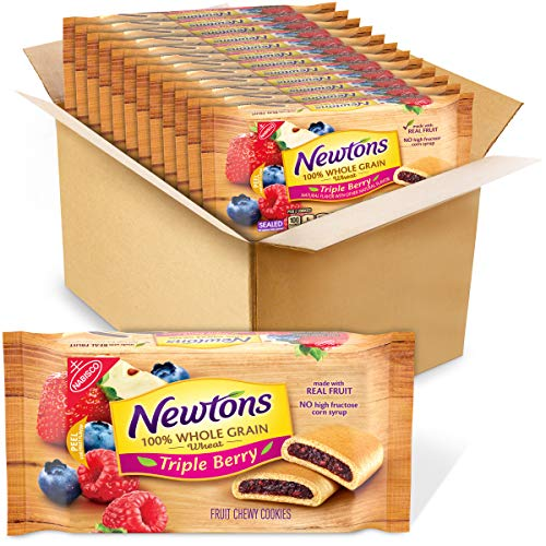 Newtons Soft & Fruit Chewy Triple Berry Fruit Cookies, 12 - 10 oz Packs