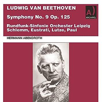 Beethoven: Symphony No. 9 in D Minor, Op. 125 (Live)