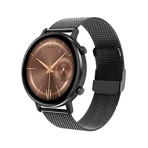 KATEMAO Reloj Inteligente De Pantalla Completa De 1.3',Monitor De Ritmo Cardíaco,Reloj A Prueba DeAgua,Rastreadores De Ejercicios para Hombres Y Mujeres,Reloj Inteligente para Android iOS