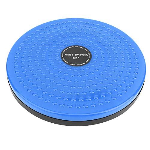 Alomejor Twist Board Cintura Twister Deportes de Interior Yoga Cintura Disco Retorcido Tablero de Equilibrio(Azul)