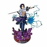 LOKOC Naruto Chidori Sasuke Uchiha Sasuke Statue Figure Figure Model Anime Character Model 29cm (1.42in) PVC/Animation Character/New Year Gift
