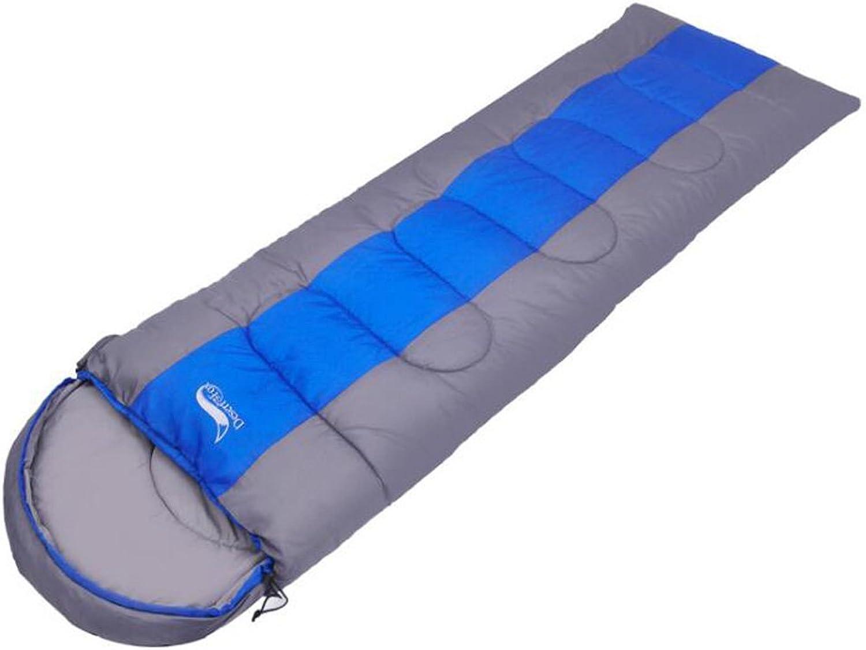 Vier Jahreszeiten Schlafsack, Schlafsack, Schlafsack, Frühling Und Herbst Ultraleicht Erwachsene Outdoor-Umschlag Camping Schlafsack, B07D4JGSJZ  Geeignet für Farbe cdac3e
