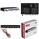 BOSS AUDIO SYSTEMS AVA1210 AVA 1210 Ecualizador a 2 Calles procesador de señal Audio Activo Crossover a 7 Bandas Ultras Slim