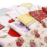 Hans-Textil-Shop Stoffpaket 4 kg, Baumwolle Seersucker