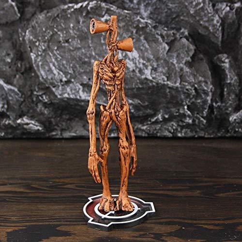 SirenHead Figurine Siren Street Lamp Head Modelo Coleccionable Urban Legend Horror Toys SCP 6789 Anime Figura de acción Regalo para niños-20cm Siren Head