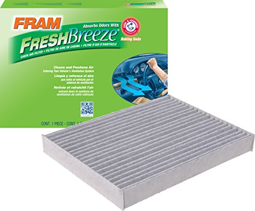 FRAM Fresh Breeze Cabin Air Filter with Arm & Hammer Baking Soda, CF12002 for Kia Vehicles