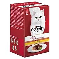 Gourmet Mon Petit Cat Food Pouches Poultry, 6 x 50g