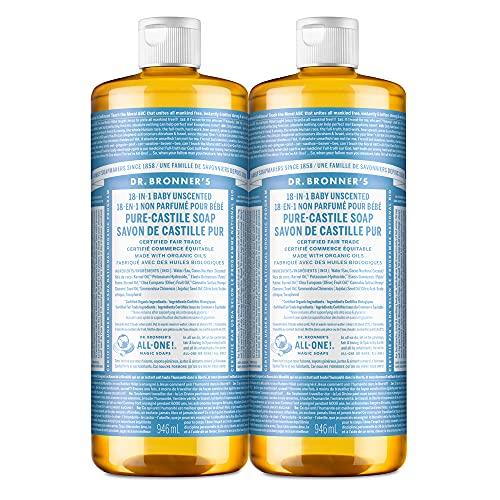 Castile Liquid Soap, Unscented