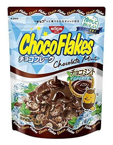 日清シスコ チョコフレーク チョコミント 60g ×12袋