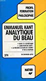 ANALYTIQUE DU BEAU H6 - Hatier - 01/12/1992