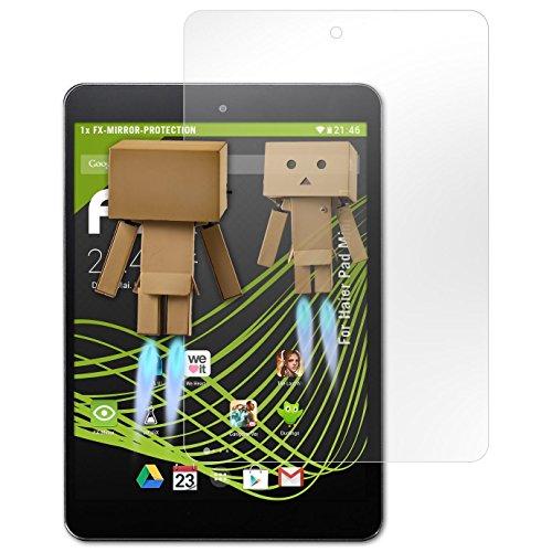 atFolix Bildschirmfolie kompatibel mit Haier Pad Mini 781 Spiegelfolie, Spiegeleffekt FX Schutzfolie
