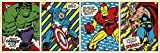 1art1 The Avengers - Marvel Comics Triptychon, Hulk,