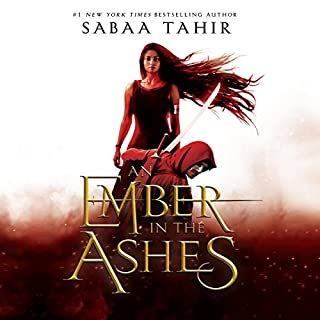 An Ember in the Ashes                   Written by:                                                                                                                                 Sabaa Tahir                               Narrated by:                                                                                                                                 Fiona Hardingham,                                                                                        Steve West                      Length: 15 hrs and 22 mins     77 ratings     Overall 4.7