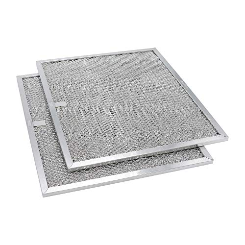BPS1FA30 Ducted Aluminum Filter Series Range Hood Compatible with Broan 30 wide WS1 and QS1 -(2Packs)