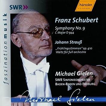 Schubert: Symphony No. 9 in C Major, D. 944 / Strauss: Voices of Spring, Op. 410