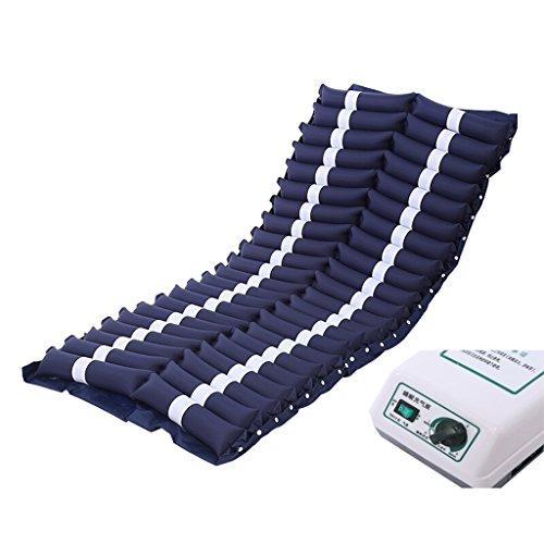 LIU UK Air mattress Spezielle Anti-Dekubitus-medizinische Luftmatratze-Umfassen aufblasbare Pumpe und Bedpan Loch (Blau) (größe : A)
