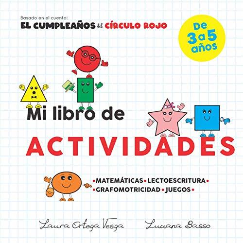 Mi libro de actividades: Del cumpleaños del círculo rojo (Educativa)