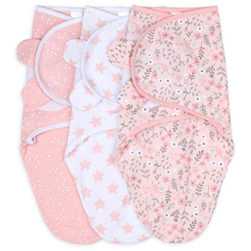 The Peanutshell Swaddle Blankets for Baby Girls
