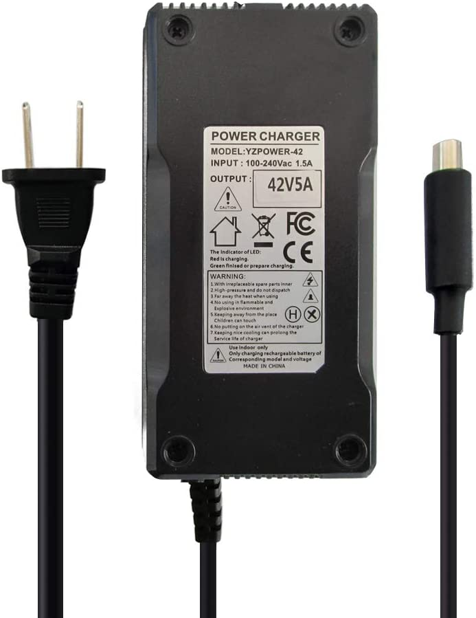 42V 5A Battery Year-end annual account Charger for Max Lithium Pack Ranking TOP11 with 8mm 36V