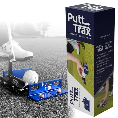 Putting Gate Practice Tool- Our Putting Aid Improves Your Alignment, Putter Path & Start Line. Putt...