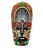 Máscara de madera étnica, diseño africano tribal