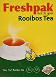 Freshpak Pure Rooibos Tea 80 Tagless Bags, Pure Rooibos and No Rooibos Infusion,  New Packaging (2 X...