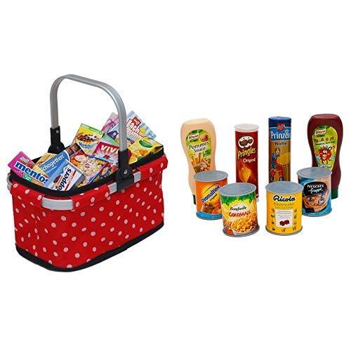 Tanner 40913 Kaufladen, Mehrfarbig &  0329.1 - Lebensmittel Set