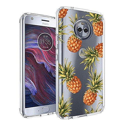 Slim Clear Pineapple Pattern Case For Motorola Moto X4 Case, Moto X4 (2017) Customized Design Soft TPU and Rubber Flexible Durable Shockproof Motorola Moto X4 Case, Moto X4 (2017) Case-Anti-Slippery
