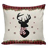 Winter Rangers Fundas de almohada de 45,72 x 45,72 cm, diseño de copos de nieve, con texto en inglés 'Buffalo'