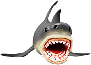Wenini Shark Model Toy - Megalodon Prehistoric Shark Ocean Education Animal Figure Model Kids Toy Gift (Shark)