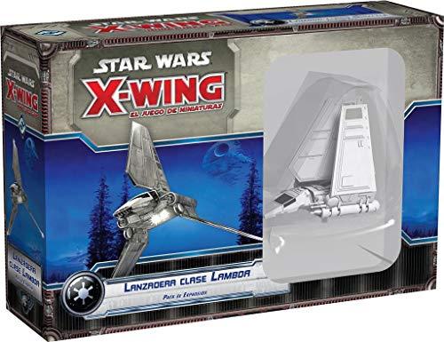 Fantasy Flight Games- Strar Wars X-Wing: lanzadera Clase Lambda - Español...