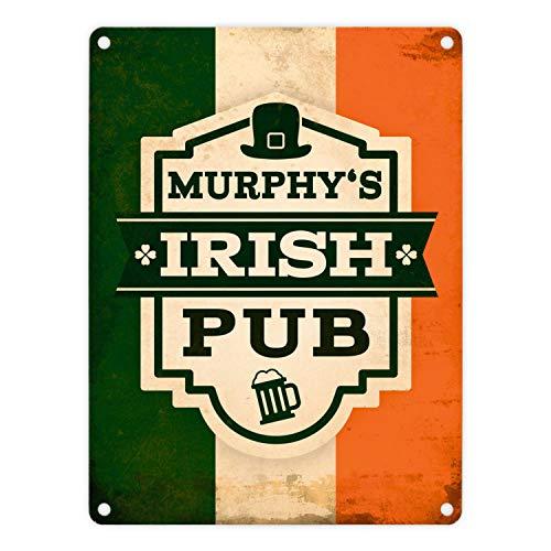 trendaffe - Metallschild mit Murphy's Irish Pub Motiv